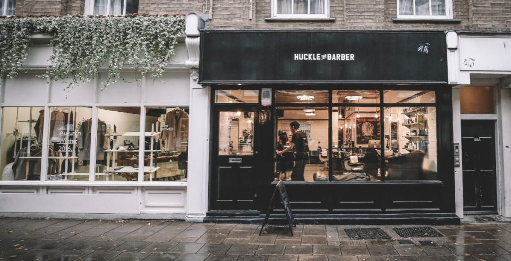 Popular London Barber Huckle the Barver uses Rensair hospital-grade air purifier